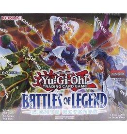 Konami YUGIOH - Battles of Legend - Light's Revenge - BLLR Booster Box