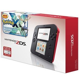 Nintendo Nintendo 2DS Crimson Red - w/ Case + Charger