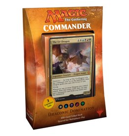 Wizards of The Coast MTG - Commander 2017 - Dragonic Dominator