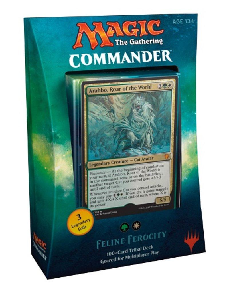 Wizards of The Coast MTG - Commander 2017 - Feline Ferocity