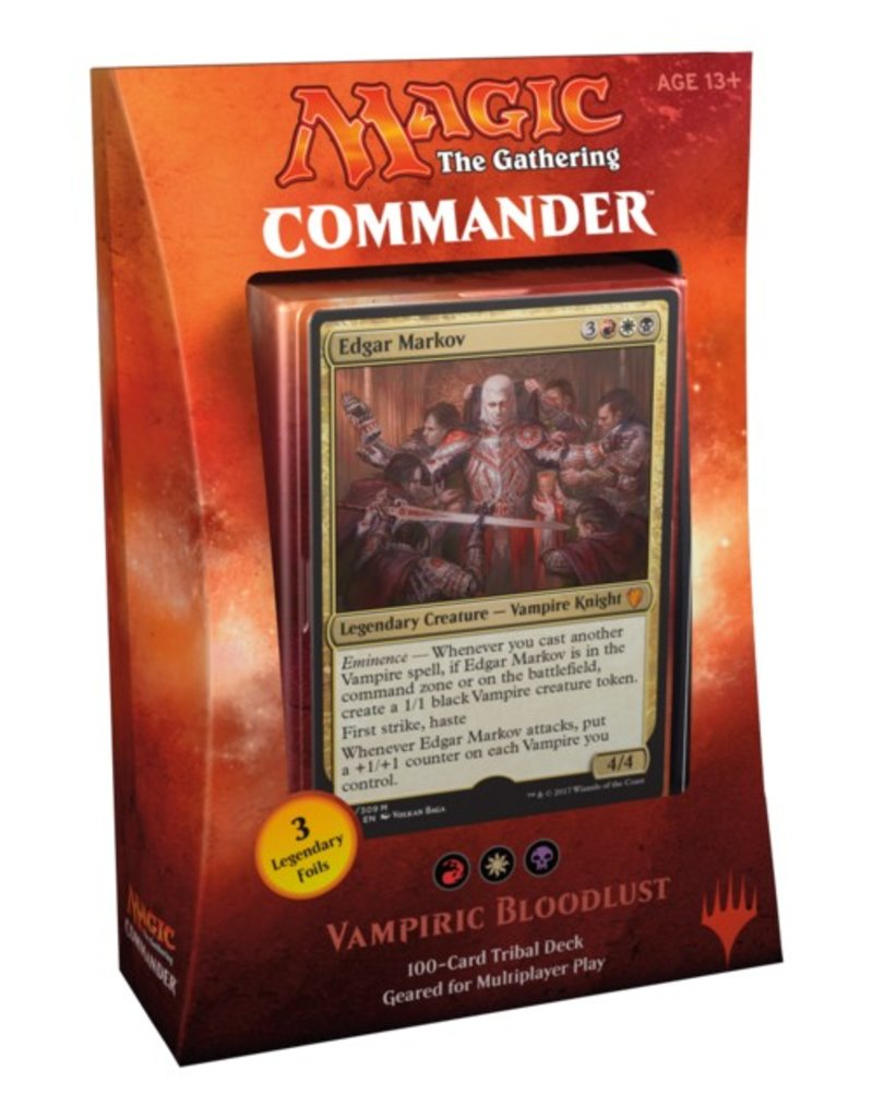 Wizards of The Coast MTG - Commander 2017 - Vampiric Bloodlust
