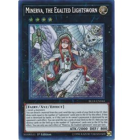 Konami Minerva, the Exalted Lightsworn - BLLR-EN044 - Secret Rare