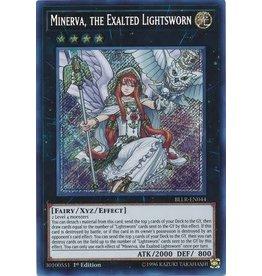 Minerva, the Exalted Lightsworn - BLLR-EN044 - Secret Rare
