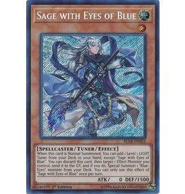Konami Sage with Eyes of Blue - BLLR-EN055 - Secret Rare