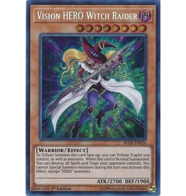 Konami Vision HERO Witch Raider - BLLR-EN026 - Secret Rare