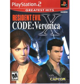 Capcom PS2 - Resident Evil Code: Veronica - CIB (Stickers)