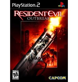 Capcom PS2 - Resident Evil Outbreak - CIB (Stickers)