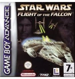 Nintendo GBA - Star Wars Flight of the Falcon - Loose