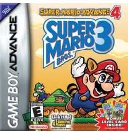 Nintendo GBA - Super Mario Advance 4: Super Mario 3  - Loose