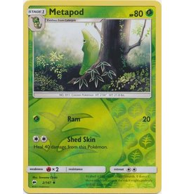 Pokemon Metapod - 2/147 - Uncommon Reverse Holo
