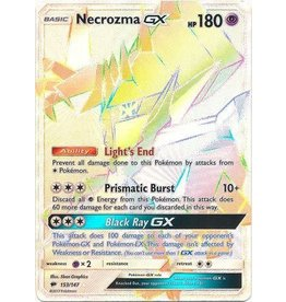 Pokemon Necrozma GX - 153/147 - Secret Hyper Rare