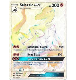 Pokemon Salazzle GX - 151/147 - Secret Hyper Rare