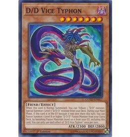 Konami D/D Vice Typhon - COTD-EN017 - Common 1st Edition