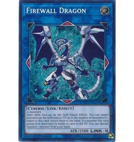Konami Firewall Dragon - COTD-EN043 - Secret Rare 1st Edition