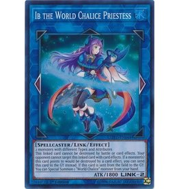 Konami Ib the World Chalice Priestess - COTD-EN048 - Super Rare 1st Edition