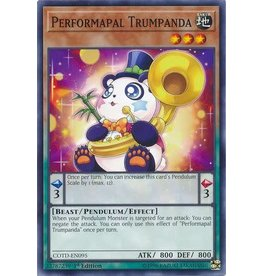 Konami Performapal Trumpanda - COTD-EN095 - Common 1st Edition