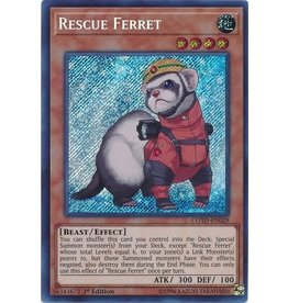 Konami Rescue Ferret - COTD-EN029 - Secret Rare 1st Edition