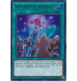 Konami Spellbook of Knowledge - COTD-EN062 - Ultra Rare 1st Edition