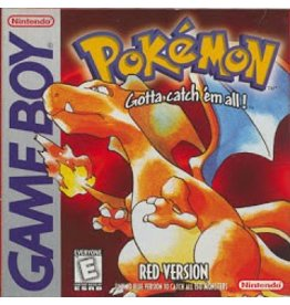 Nintendo Pokemon Red - loose