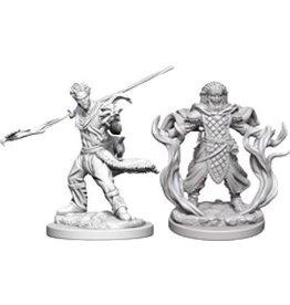 WizK!ds D&D Miniatures (2) Human Druid Male