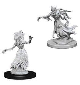 WizK!ds D&D Miniatures (2) Wraith & Specter