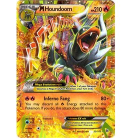 Pokemon Mega Houndoom - 22/162 - EX Rare