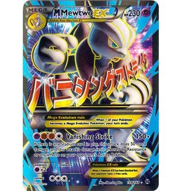 Pokemon Mega-Mewtwo-EX - 159/162 - Full Art Ultra Rare