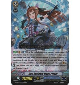 Bushiroad Duo Sprinkle Light, Priani (Black) - G-CB05/S49 - Special Parallel (SP)