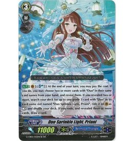 Bushiroad Duo Sprinkle Light, Priani (White) - G-CB05/S49 - Special Parallel (SP)