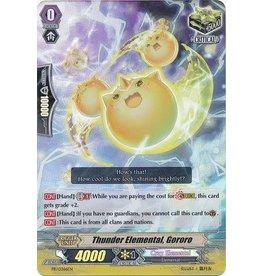 Bushiroad Thunder Elemental, Gororo - PR/0366EN - Promo