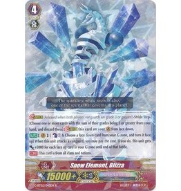 Bushiroad Snow Element, Blizza - G-BT02/043 - R