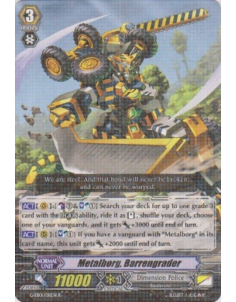 Bushiroad Metalborg, Barrengrader - G-EB01 - R