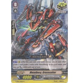 Bushiroad Metalborg, Grasscutter - G-EB01 - R