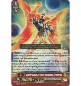 Bushiroad Super Giant of Light, Enigman Crossray - G-BT07/035 - R