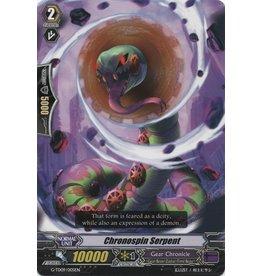Bushiroad Chronospin Serpent - G-TD09/005 - N/A