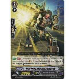Bushiroad Iron Fist Sanction Colossus - G-TD09/008 - N/A