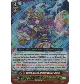 Bushiroad Witch Queen of Holy Water, Clove - G-FC02/012 - RRR
