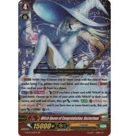 Bushiroad Witch Queen of Congratulation, Nasturtium - G-BT11/013 - RR