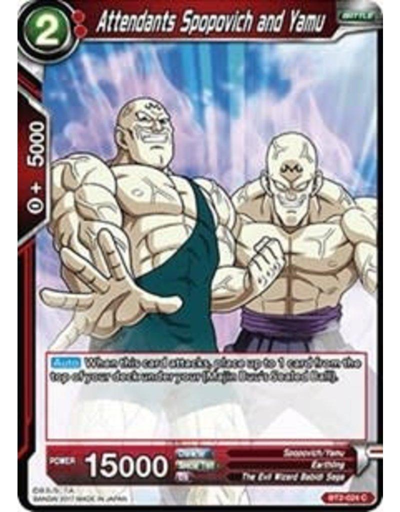 Bandai Namco Attendants Spopovich and Yamu - BT2-024 - Common