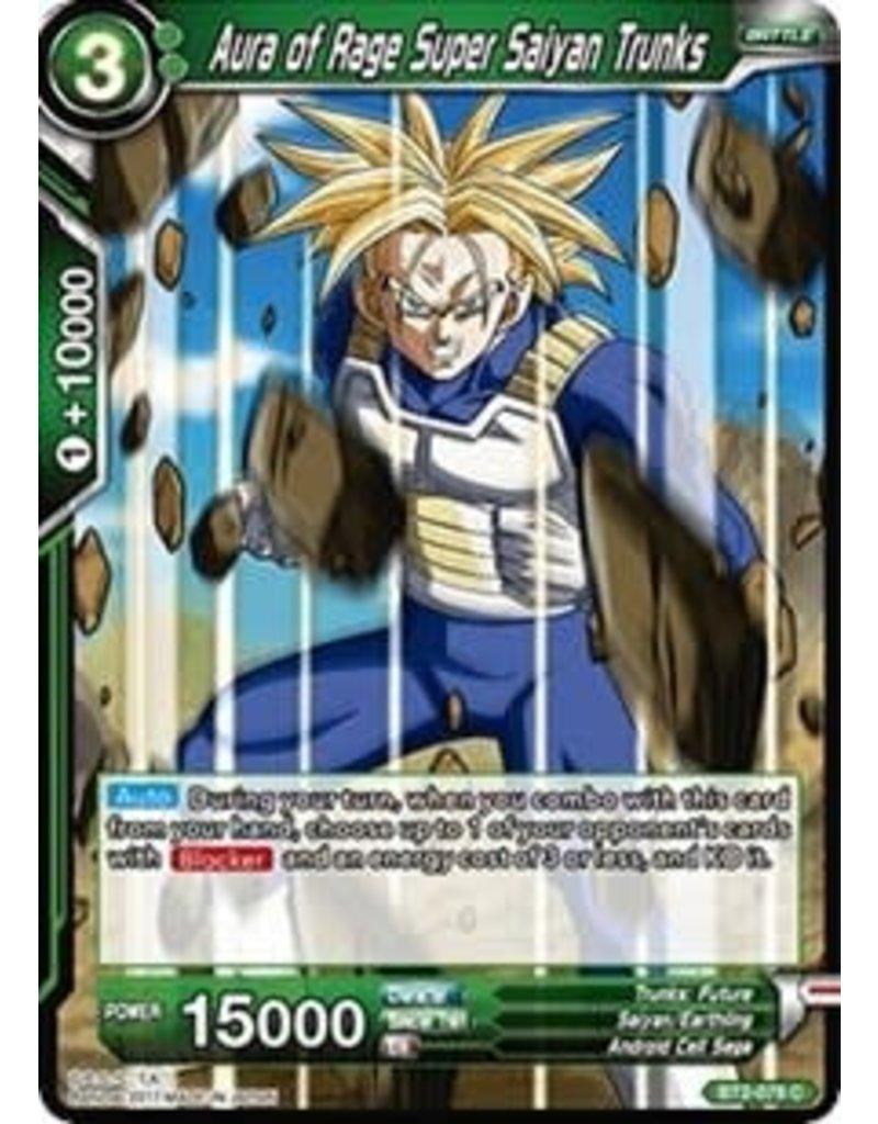 Bandai Namco Aura of Rage Super Saiyan Trunks - BT2-079 - Common