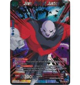 Bandai Namco Jiren, Fist of Justice - BT2-029 - Super Rare