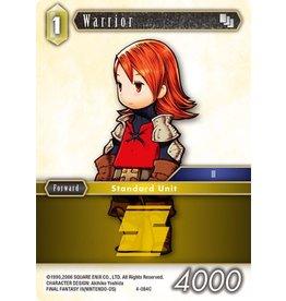 Square Enix Warrior - 4-084 - C Foil