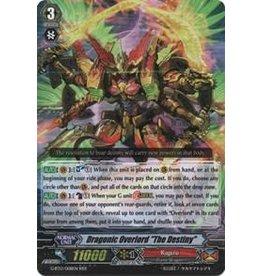 Bushiroad Dragonic Overlord ''The Destiny'' - G-BT13/008 - RRR