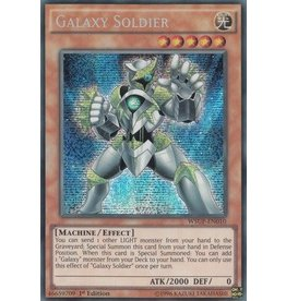 Konami Galaxy Soldier - WSUP-EN010 - Prismatic Secret Rare