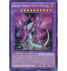 Konami Greedy Venom Fusion Dragon - FUEN-EN010 - Secret Rare