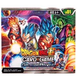 Bandai Namco Dragon Ball Super Card Game - Galactic Battle B01 - Booster Box