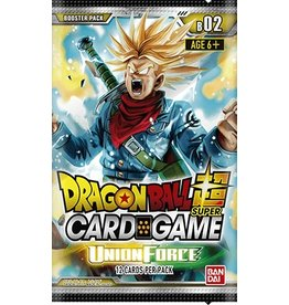 Bandai Namco Dragon Ball Super Card Game - Union Force B02 - Booster Pack