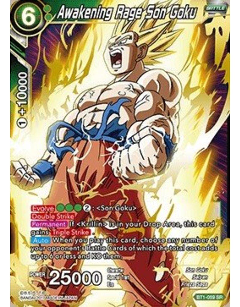 Bandai Namco Awakening Rage Son Goku - BT1-059 - Super Rare