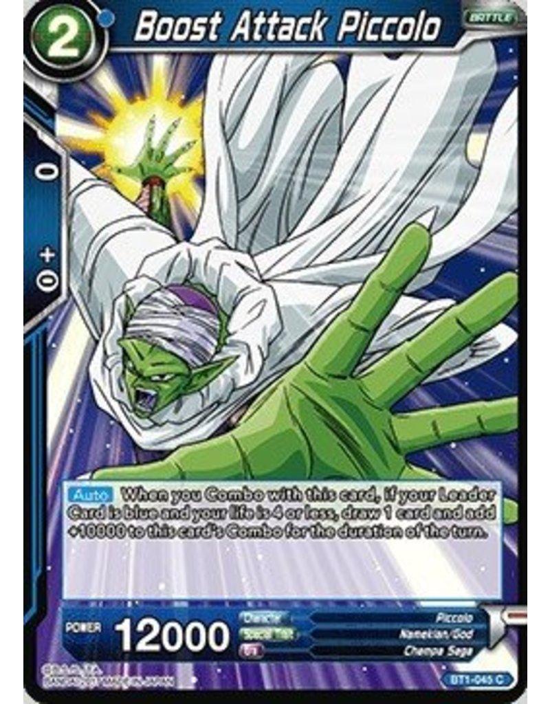 Bandai Namco Boost Attack Piccolo - BT1-045 - Common