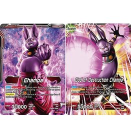Bandai Namco Champa / God of Destruction Champa - BT1-001 - Rare